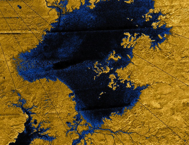 Titan-methane-river-networks-map