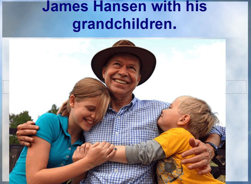 James-Hansen-with-his-grandchildren